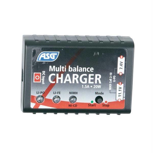 Multi balance charger - US, NimH,NiCd,LiPo,LiIon
