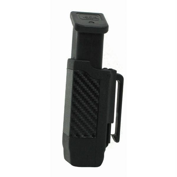 CF Double Row Mag Case, Matte Finish, 9mm..40 Cal. Black