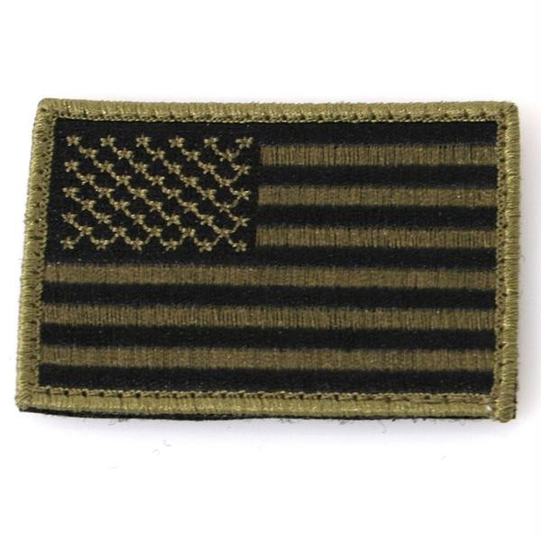 Patch, American Flag, Subdued w/Velcro