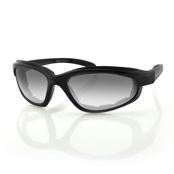 Fat Boy Sunglasses, Anti-Fog Photochromatic Lens, Blk Frame