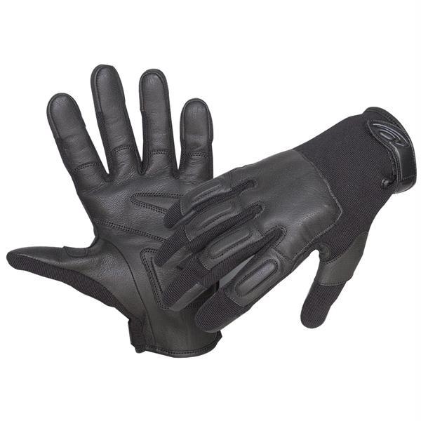 Defender II Gloves w/Steel Shot, Black, M