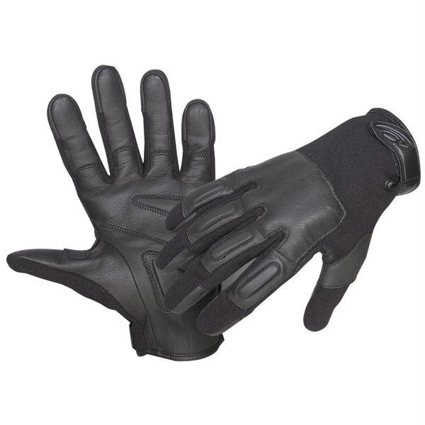 Defender II Gloves w/Steel Shot, Black, S
