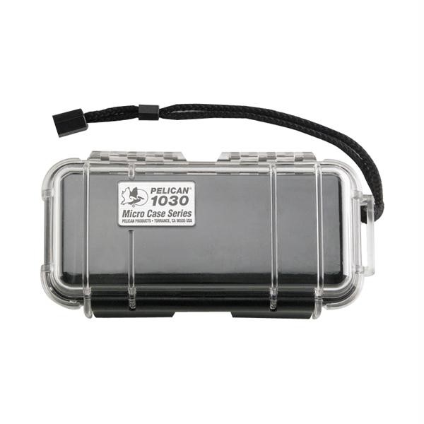 Micro Case Clear, Black, 7.5 x 3.88 x 2.44