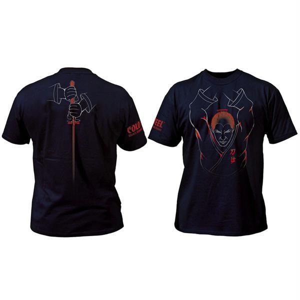 Samauri T-Shirt, Black, Small