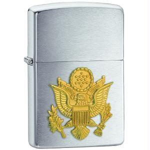 Brushed Chrome, Army Emblem