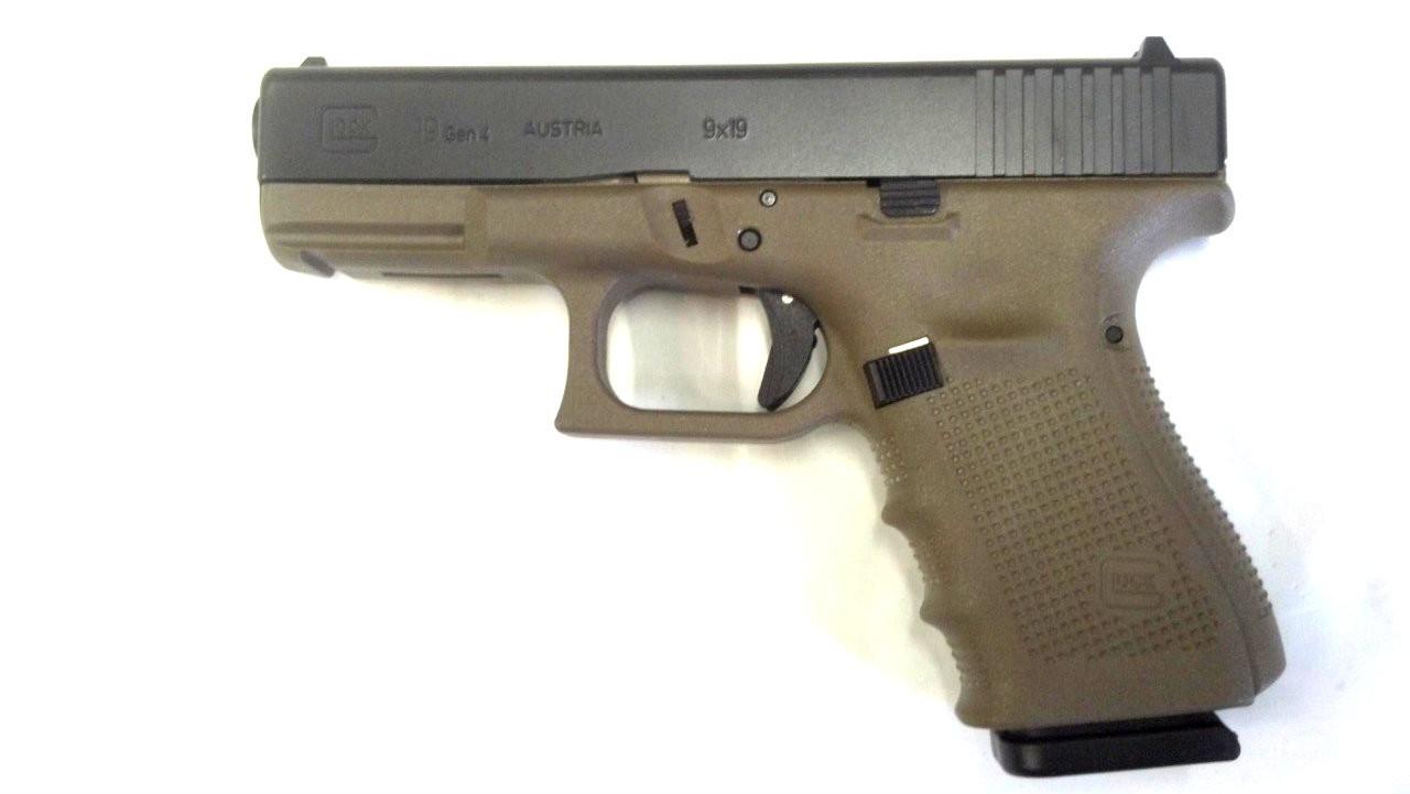 Glock 19 Gen IV OD Green