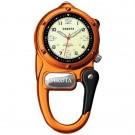 Mini Clip Microlight, Cream Military Dial, Orange Case