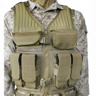Omega Elite Tactical Vest #1, Coyote Tan