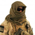 Tactical Shemagh, Olive/Black