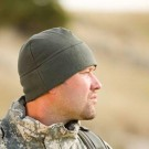 E.C.W. Watchcap, Fleece, Low Profile, OD Green
