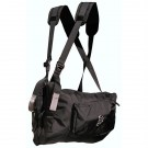RIBZ Front Pack , Stealth Black, XL, 40-50 w, 11 liter