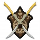 LOTR The Fighting Knives of Legolas Greenleaf, Set