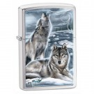 Brushed Chrome, Wolf Pack Howling Scene, Claudio Mazzi